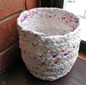Ideas For Waste Baskets Design Como Fazer Uma Cesta Sacolinhas De Pl 225 Stico Passo A Passo Recicla E Decora