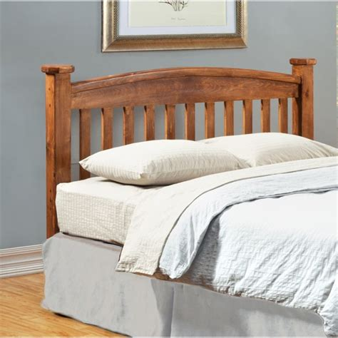 Oak Headboard by Furniture Of America Legales King Slat Headboard In Oak