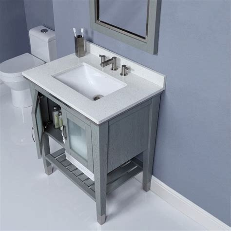 Washroom Vanity by Modern Bathroom Vanities Provide Relax Comfort And