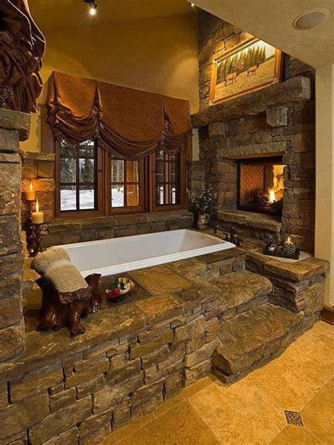 Bathrooms With Fireplaces - 25 cozy and mesmerize bathrooms with fireplaces home