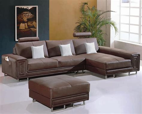 sofa with matching ottoman modern leather sectional sofa with matching ottoman model