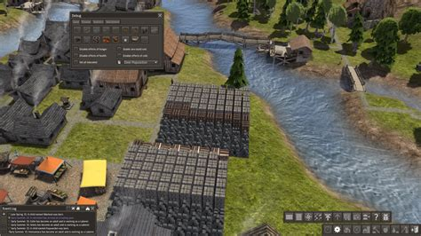 banished game fountain mod debug menu at banished nexus mods and community