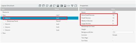 section bootstrap hitachi vantara pentaho bi suite tutorials new features