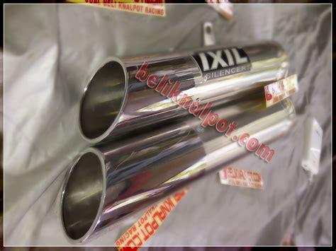 Knalpot Racing Kawasaki 250 Karbu Akrapovic Layang Fullsystem knalpot ixil muffler 250 er6 z800 z250 z1000