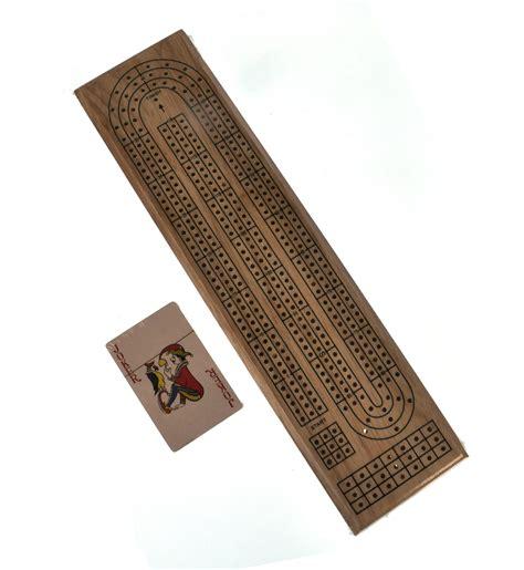 Crib Board by Classic Wooden Cribbage Board Set Ebay
