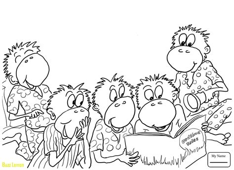coloring pages monkeys jumping bed five little monkeys jumping on the bed coloring pages