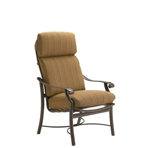montreux cushion dining chair tropitone