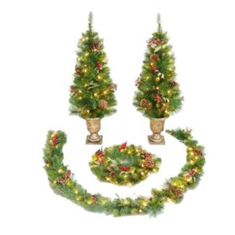 4 ft pre lit st nicolas entryway artificial christmas
