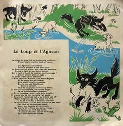 Dessin De Le Loup Et Lagneau L L L