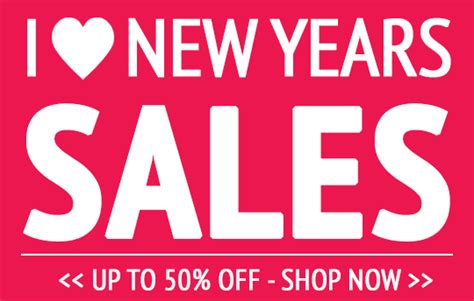 new year by the sales new years sales