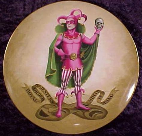 royal order  jesters plate