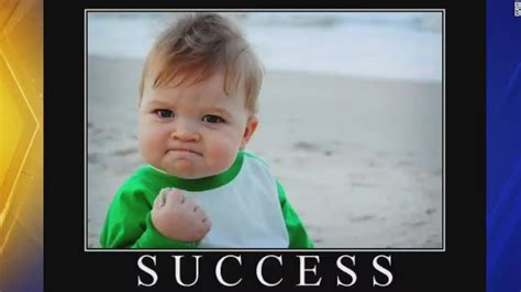 Success Meme Baby - success kid is out to get his dad a kidney cnn com