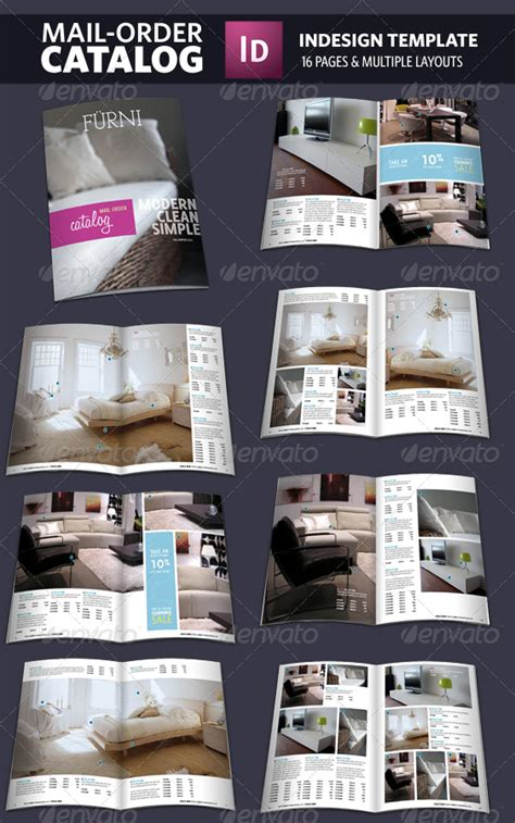 Mail Order Catalog Indesign Template By Adriennepalmer Graphicriver Indesign Catalog Templates