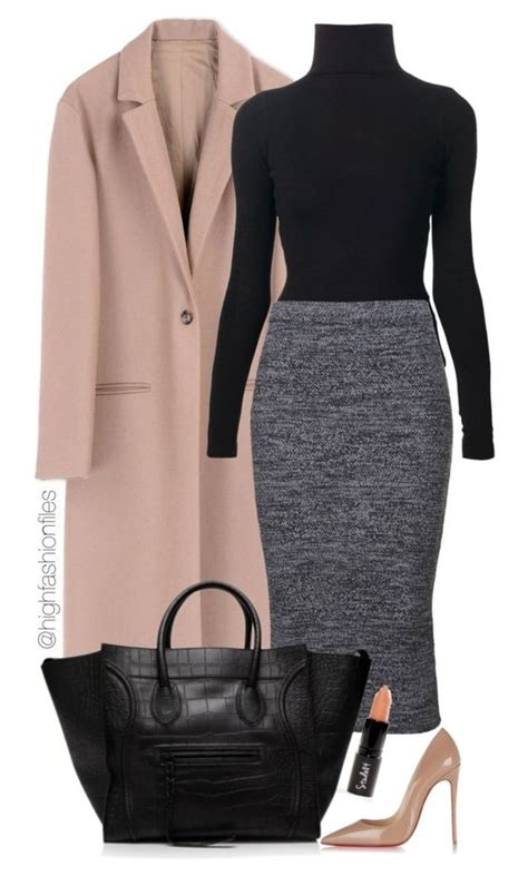 stylish winter polyvore combos   fall  love