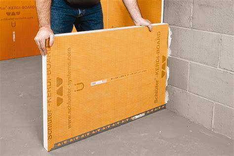 schluter 174 kerdi board kerdi board panels building panels schluter com