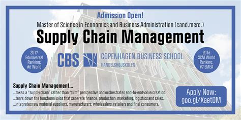 Best Affordable Mba Supply Chain Management by Master Of Supply Chain Management Ranking Best Chain 2018