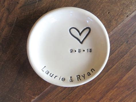 Wedding Ring Dish Holder by Ring Dish Wedding Ring Holder Engagement Gift Mr And