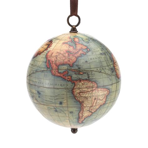 vintage globe christmas ornament gump s