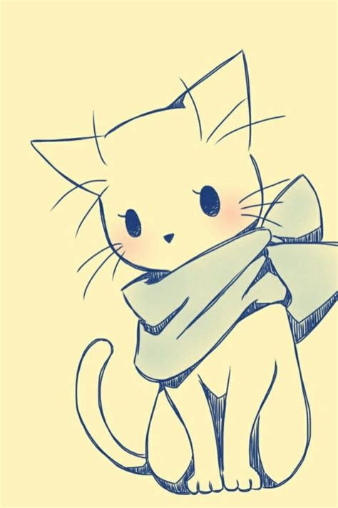 easy cat 40 simple cat drawing exles anyone can try