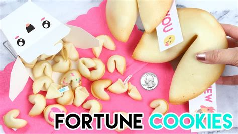 How To Make A Fortune Cookie Out Of Paper - how to make mini fortune cookies linkis