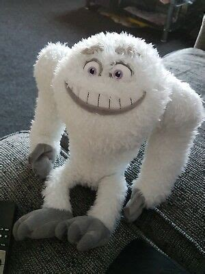 monsters  abominable snowman disney plush soft toy