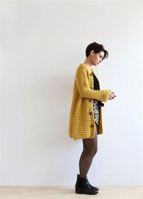 yellow jacket pattern yellow kimono jacket crochet pdf pattern for by