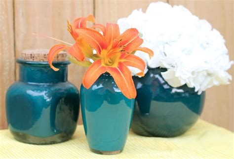Paint Inside Glass Vase cheap and easy decorating idea paint the inside of a glass vase thriving home