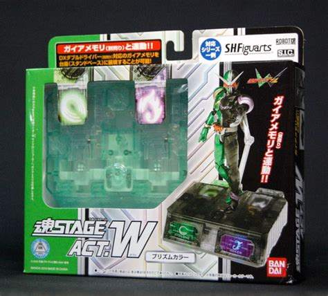 Tamashii Stage Act 5 For Mechanics Japan bandai tamashii stage act w for mechanics green ver