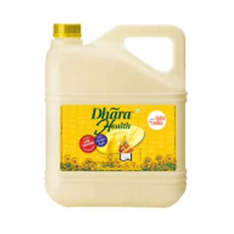 Luglio Sunflower 5 Ltr dhara refined sunflower 5 ltr can buy at best price bigbasket bigbasket