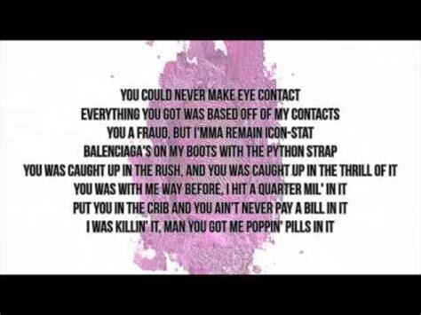 bed of lies lyrics nicki minaj feat skylar grey bed of lies youtube
