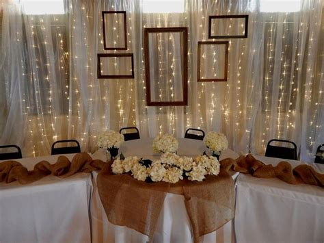 Wedding Backdrop Fabric Rentals by Table Backdrop Rental 20 W X 10 H Draped In Chiffon