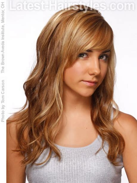 cute hairstyles long wavy hair easy hairstyles for long wavy hair