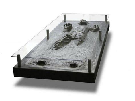 Carbonite Coffee Table with Han In Carbonite Coffee Table Gadgetsin
