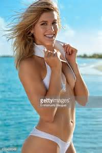 player genie bouchard poses for the 2017 sports illustrated swimsuit