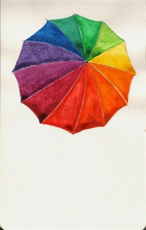 color wheel umbrella worth drawing color wheel umbrella