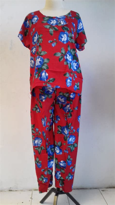 Daster Payung Katun Dewasa A4 gudang baju daster batik katun murah gudangdaster