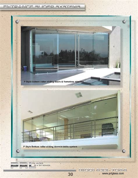 prl glass doors prl glass offers an all glass sliding door bottom rolling