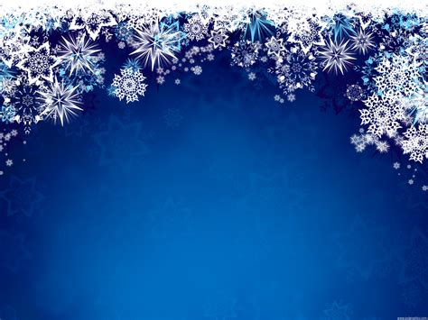 blue snowflakes background psdgraphics
