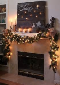 garlands with lights for fireplace garlands for stairs fireplaces and lights