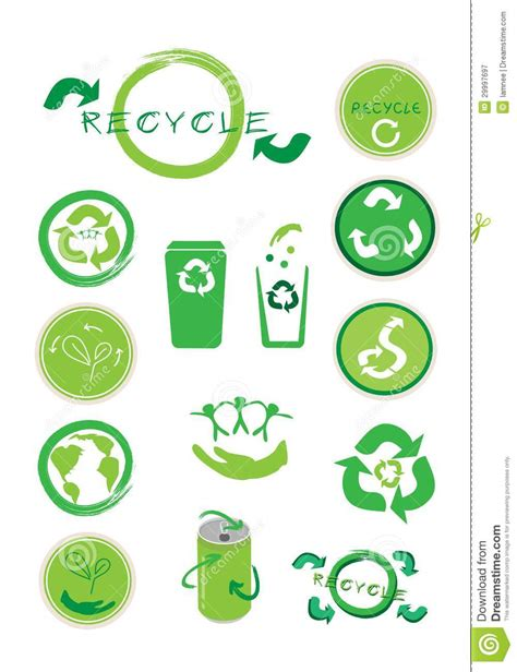 Kaos Go Green Collection Earth Text set of ecology icon for save the world royalty free stock photography image 29997697
