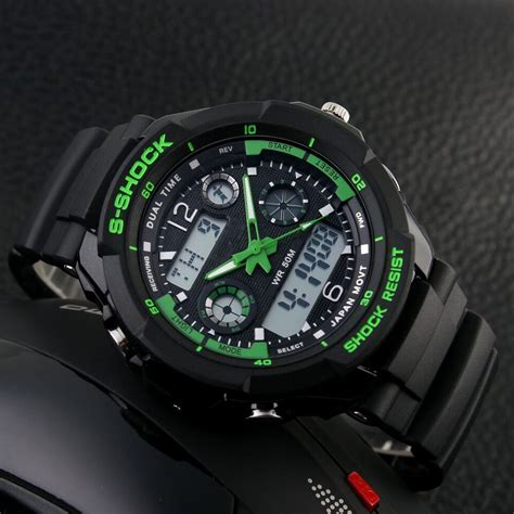 mortima jam tangan sporty pria rubber model 17