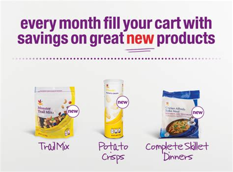 printable coupons giant food new giant store coupons save on trail mix potato chips