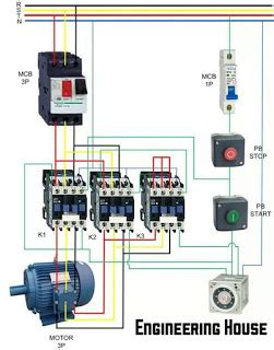 Electrical contactor wiring diagram electrical free with 28 more electrical contactor wiring diagram electrical free electric power engineering motor delta course 2 asfbconference2016 Image collections