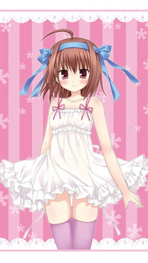 cute anime girl iphone wallpaper cute anime girl iphone wallpaper wallpapersafari