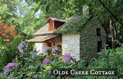 Old Colonial House Plans by A Small Stone Cottage On A Creek In Pennsylvania Hooked