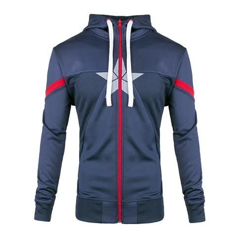Vest Hoodie Captain America Civil War captain america civil war true patriot hoodie merchoid