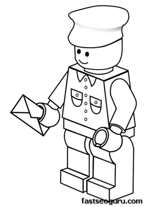lego head coloring coloring pages