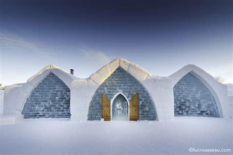 Hotel De Glace h 244 tel de glace architettura e arredamento di ghiaccio e