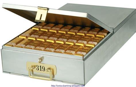 Safety Box Bank swiss federal bank boxes