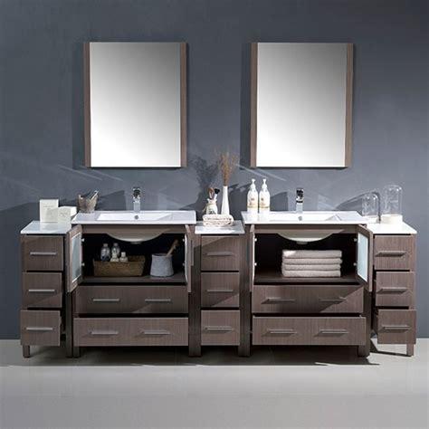 fresca torino 96 inch modern bathroom vanity